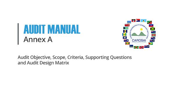 Audit Manual Annexes A