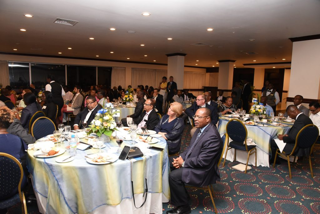 Participants of CAROSAI's 30th Anniversary Conference attending the official dinner.