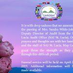 CAROSAI Death Announcement